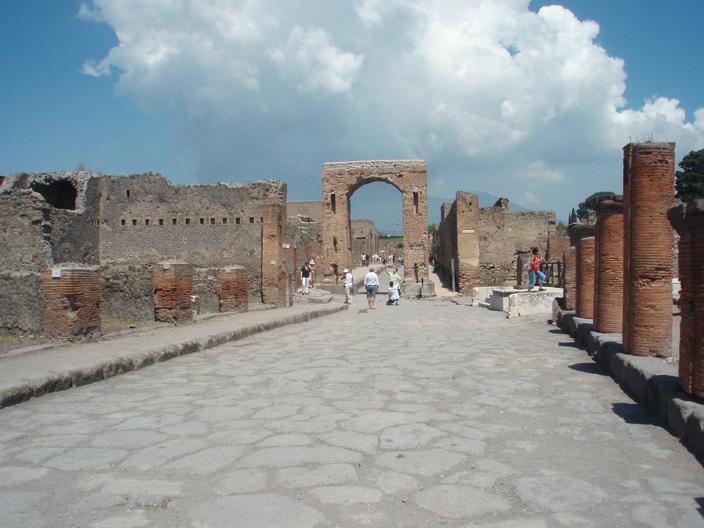 Pompei raccontata da Goethe