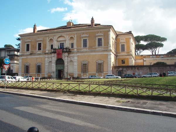 Roma : Villa Giulia e il Museo Nazionale Etrusco